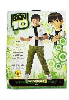 Compleu baieti, Ben 10, alb cu verde