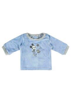 Compleu bebe, Mickey albastru cu dungi