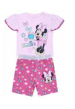 Compleu bebe, Minnie smile, roz