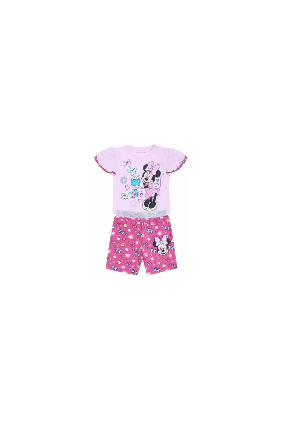 Compleu bebe, Minnie smile, roz imagine