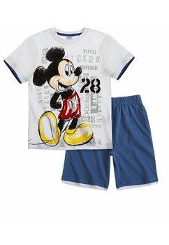 Compleu Mickey alb 5045