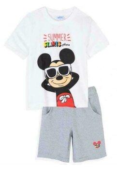 Compleu Mickey, Summer Starts Here, alb cu gri