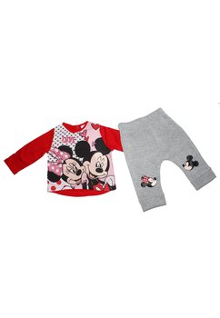 Compleu Minnie si Mickey, rosu