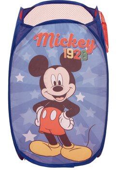 Cos pentru jucarii, poliester, Mickey 1928, albastru