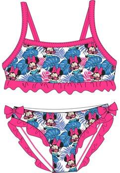Costum de baie, 2 piese, Minnie cu ochelari roz