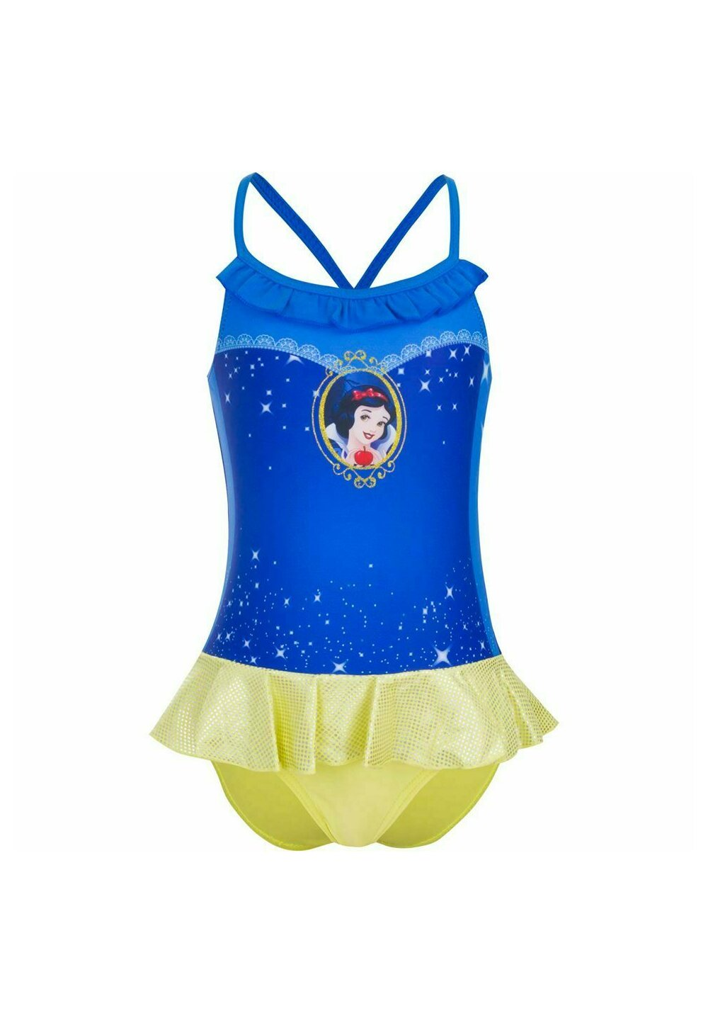 Costum de baie, Alba ca Zapada, albastru imagine