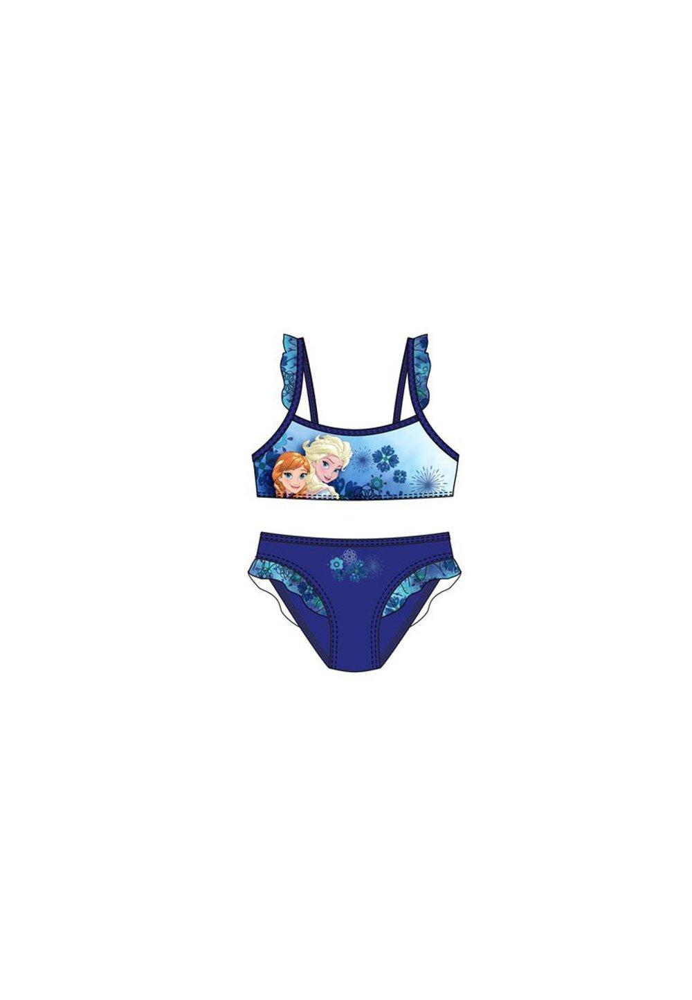 Costum de baie, Frozen, albastru imagine