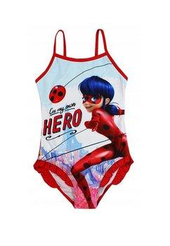 Costum de baie intreg, Hero, Miraculos, rosu