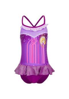 Costum de baie, Rapunzel, mov