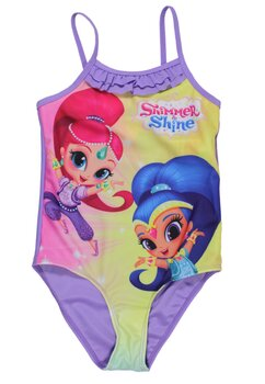 Costum de baie, Shimmer si Shine, mov