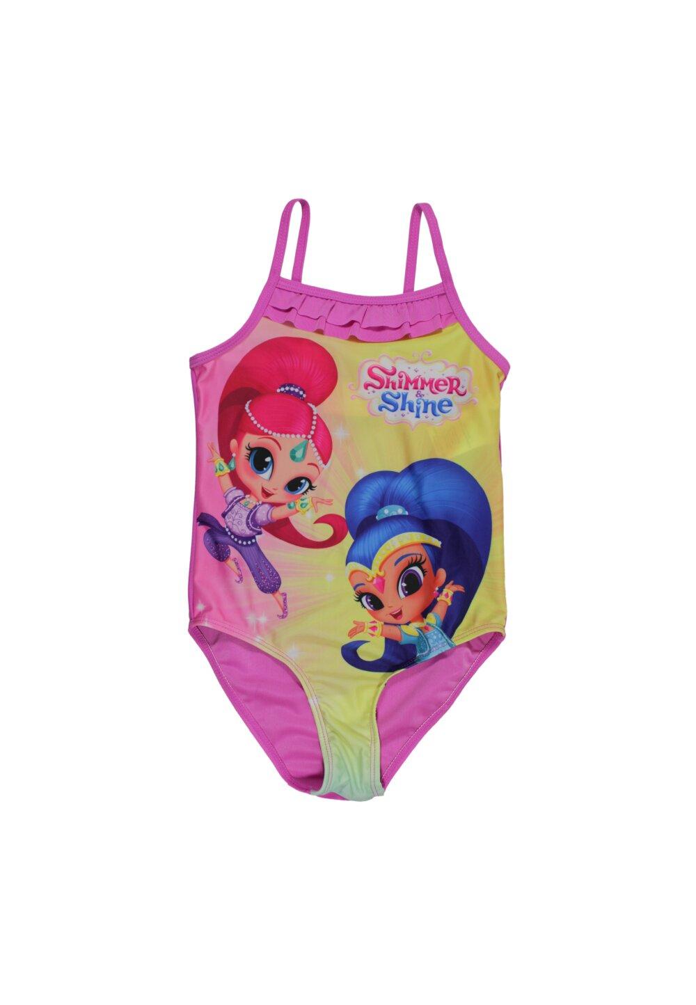 Costum de baie, Shimmer si Shine, roz imagine