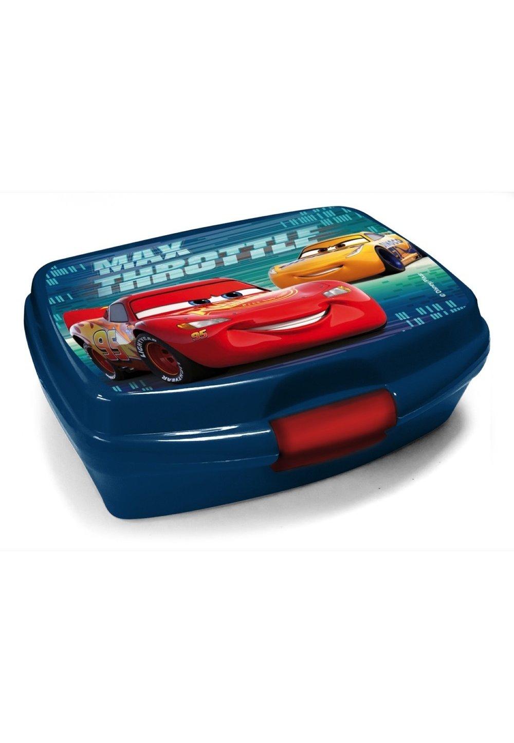 Cutie alimentara, Cars, Max throttle, albastra, 16x11x6 cm imagine
