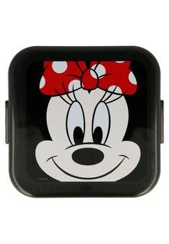 Cutie alimentara, rosie cu buline albe, Minnie Mouse