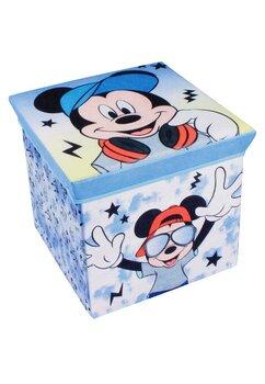 Cutie depozitare, Mickey Mouse, albastra cu stelute
