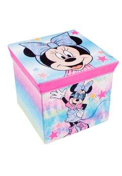 Cutie depozitare, Minnie Mouse, roz cu stelute