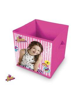 Cutie depozitare, pliabila, Soy Luna, roz