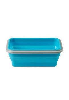 Cutie silicon, 500ml, albastra
