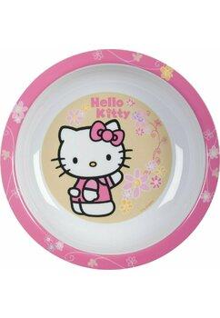 Farfurie adanca, Hello Kitty, roz