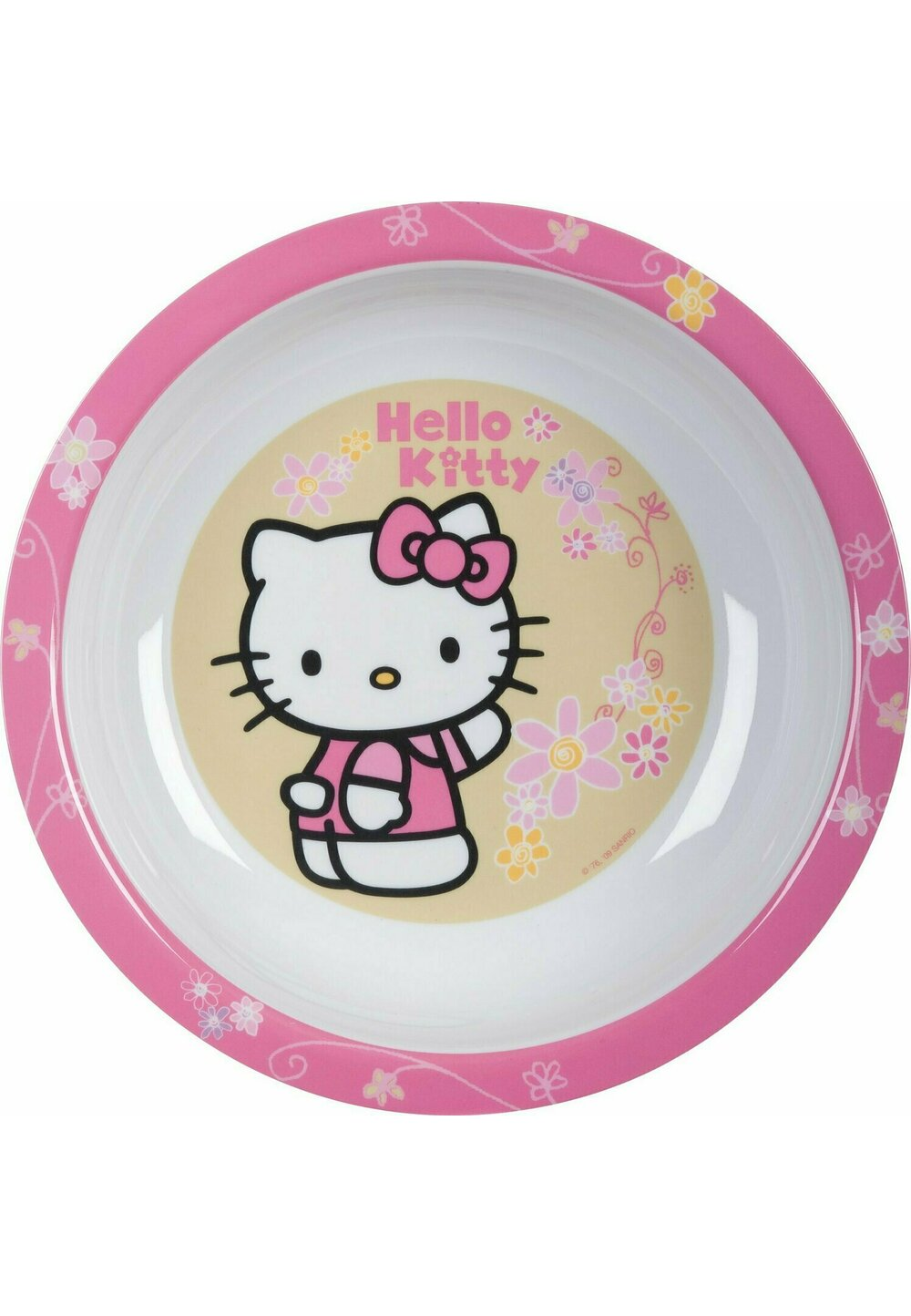 Farfurie adanca, Hello Kitty, roz imagine