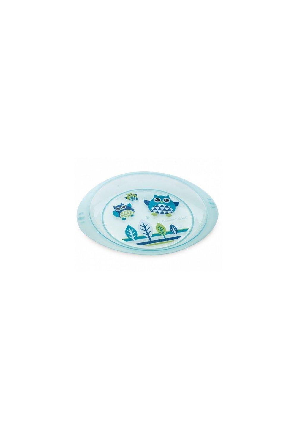 Farfurie bufnita, albastra imagine