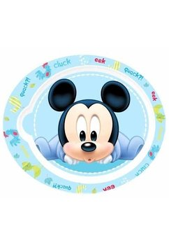 Farfurie Mickey Mouse, albastra