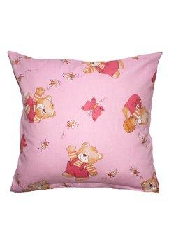 Fata de perna, ursuleti cu albinute, roz