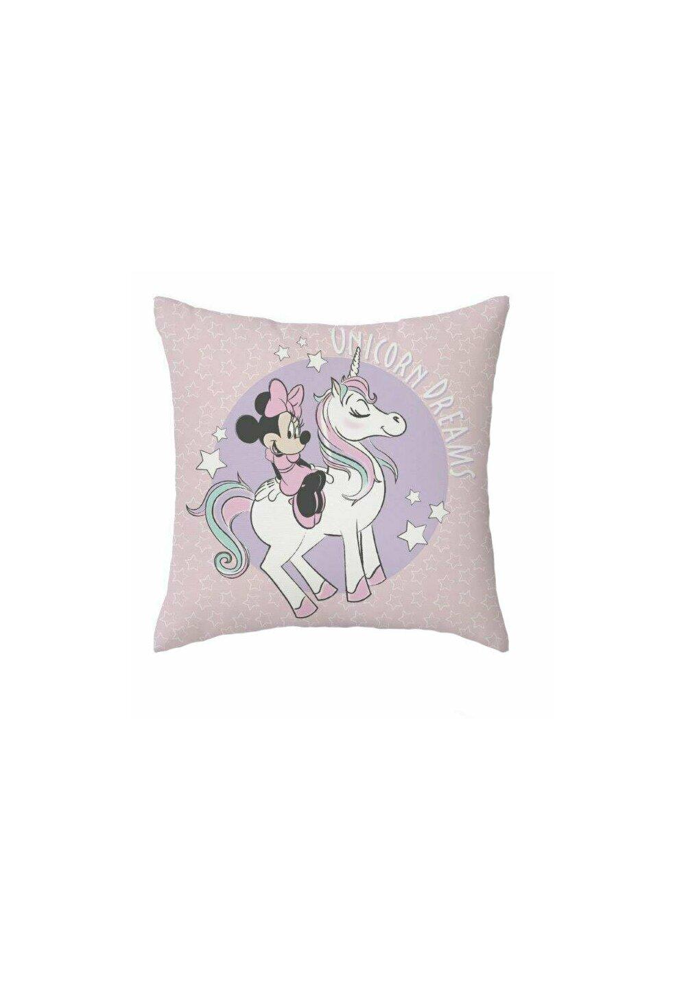 Fata perna, Minnie Unicorn Dreams, roz, 40x40 cm imagine