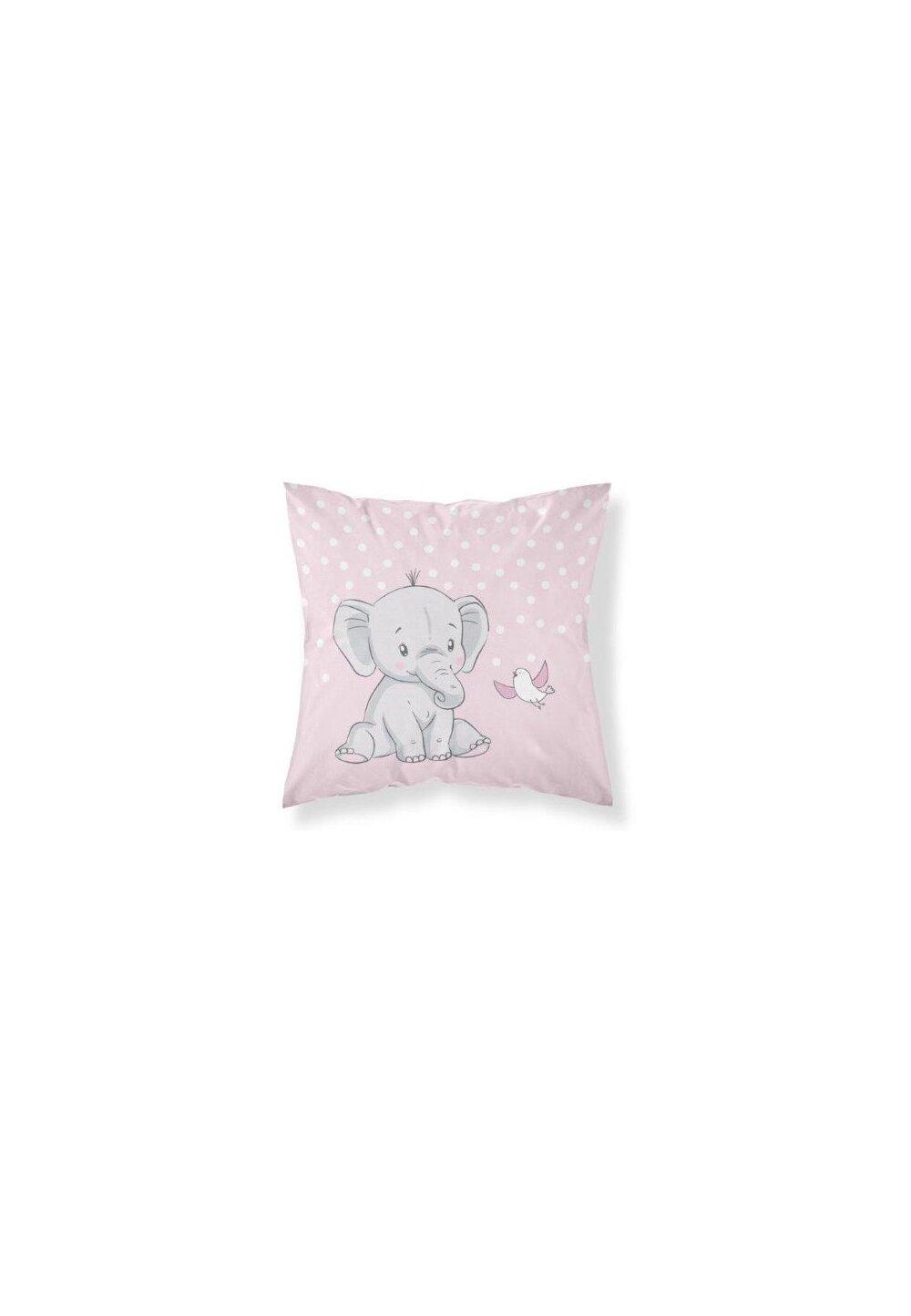 Fata perna, Sweet dreams, roz, 40x40 cm imagine