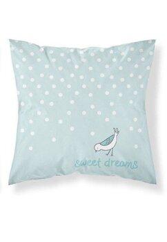 Fata perna, Sweet dreams, turcoaz, 40x40 cm