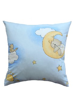 Fata perna, ursuletul somnoros, albastru