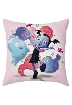Fata perna, Vampirina, roz, 40x40 cm
