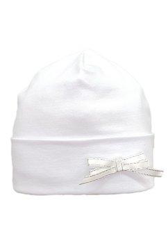 Fes botez alb, cu fundita