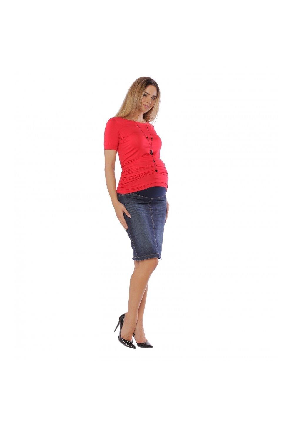 Fusta de blugi, gravide, Clara imagine