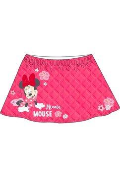 Fusta, Minnie Mouse, roz cu floricele