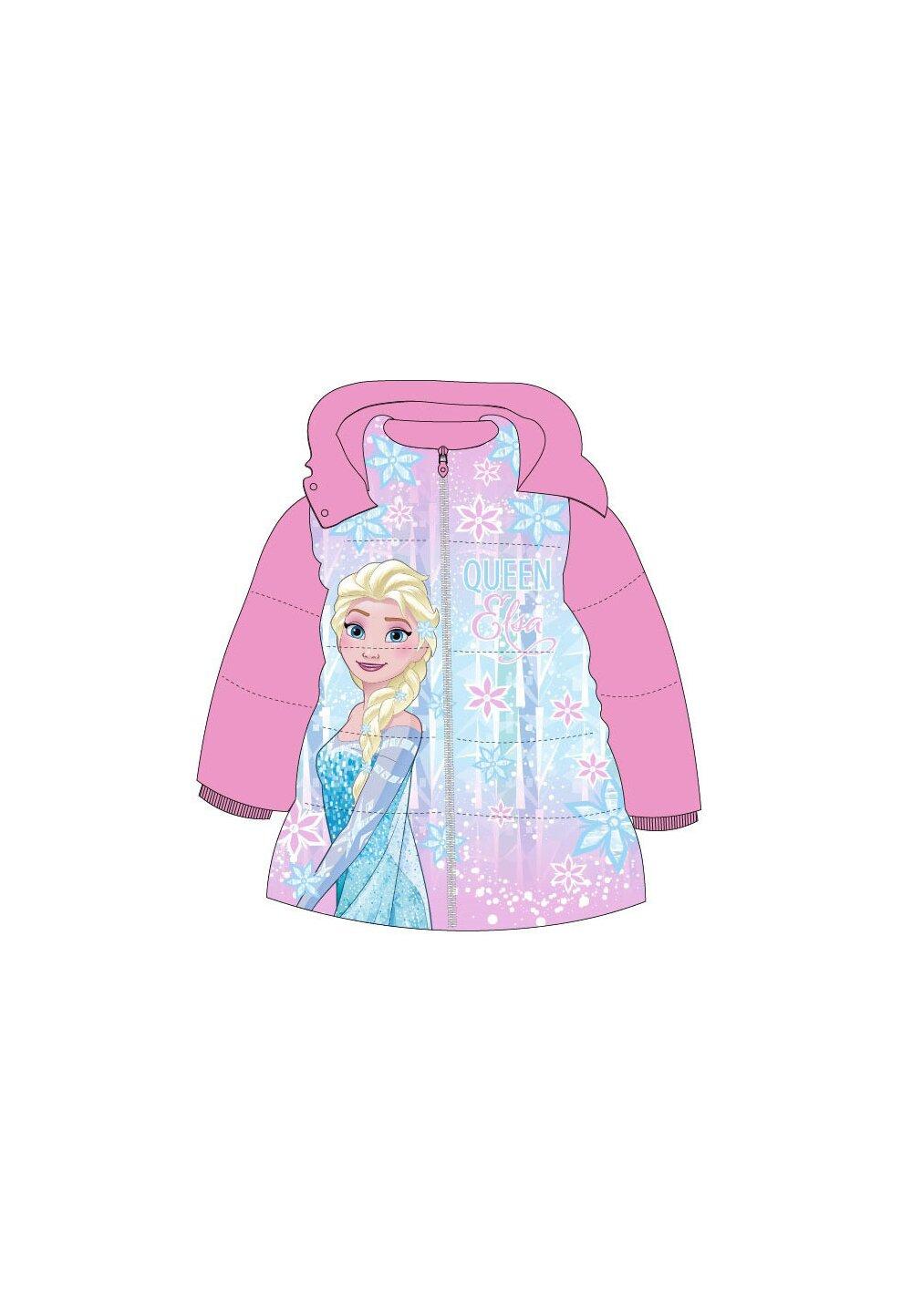 Geaca fete, Frozen Queen Elsa, roz imagine