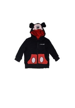 Geaca fleece, Mickey, neagra