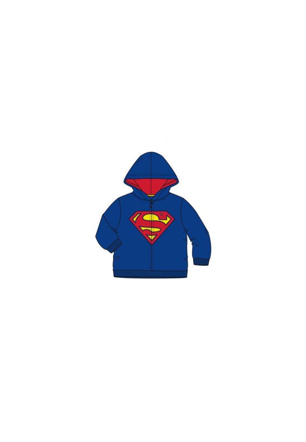 Geaca Fleece, Superman, Albastra