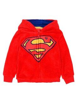 Geaca fleece, Superman, rosie