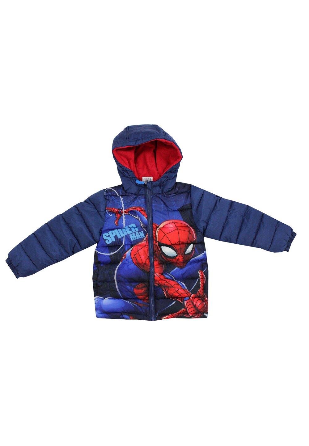 Geaca iarna baieti, Spider Man, rosie