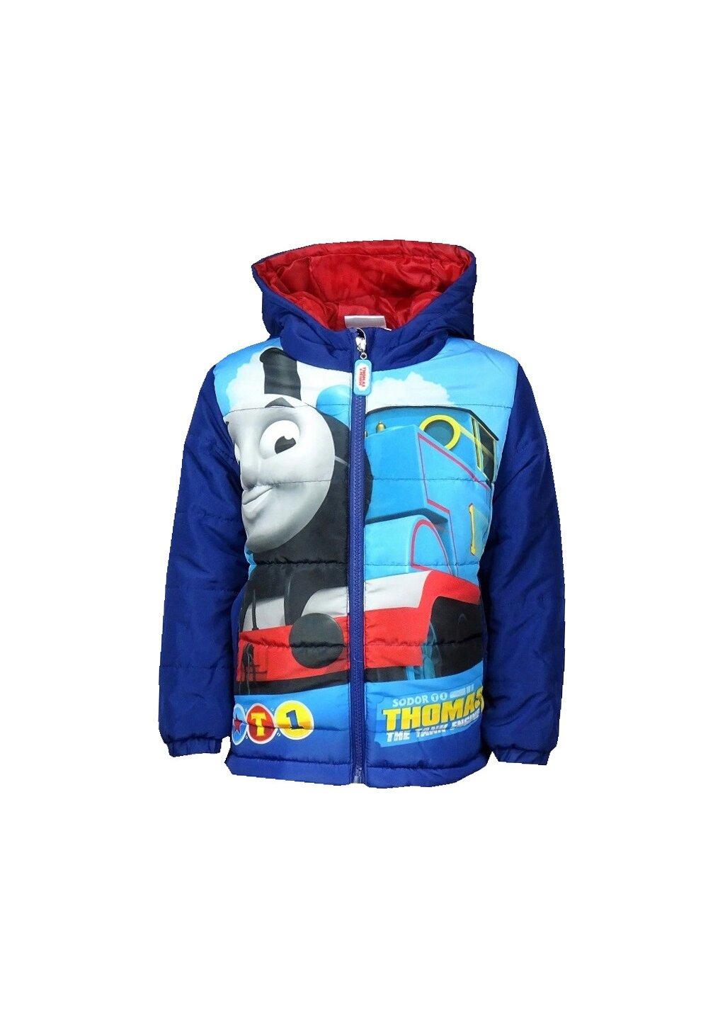 Geaca poliester de iarna, Thomas, albastra
