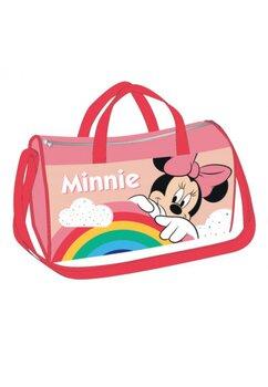 Geanta sport, Minnie rainbow, roz