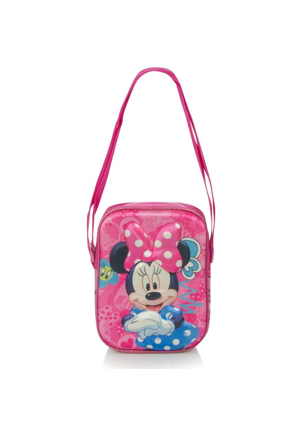Geanta umar 3D, Minnie Mouse, roz imagine