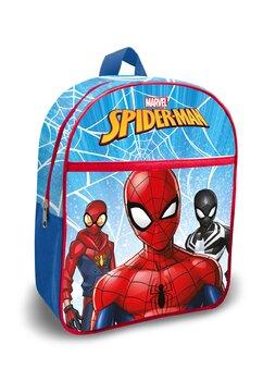 Ghiozdan, 3x Spider-man, albastru