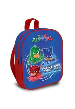 Ghiozdan albastru, On our way, Pjmasks, 28 cm