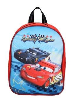 Ghiozdan, Cars Race, rosu, 28x22x10 cm