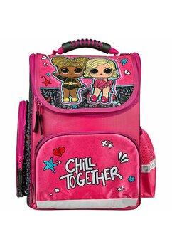 Ghiozdan LOL, Chill Together, roz, 40 x 32 x 22 cm