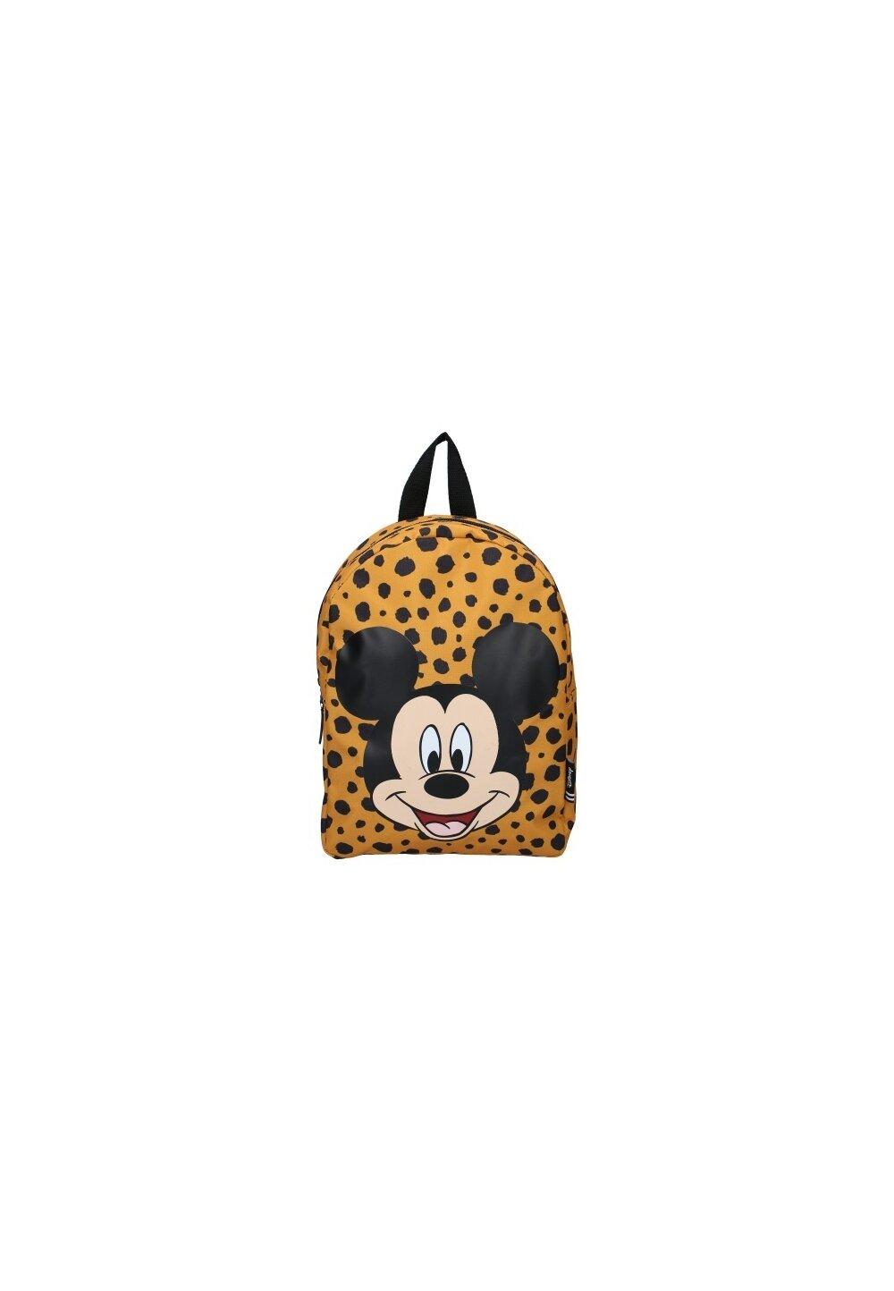 Ghiozdan, Mickey Mouse, galben cu negru imagine