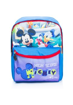 Ghiozdan Mickey si Donald, albastru, 29 x 24 x 10 cm