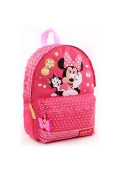 Ghiozdan Minnie Mouse, roz cu buline