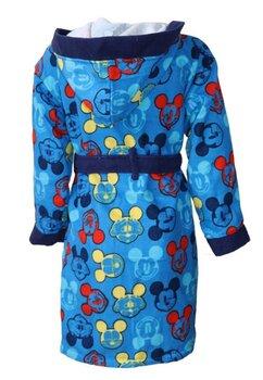 Halat de baie, albastru cu figurine multicolore, Mickey